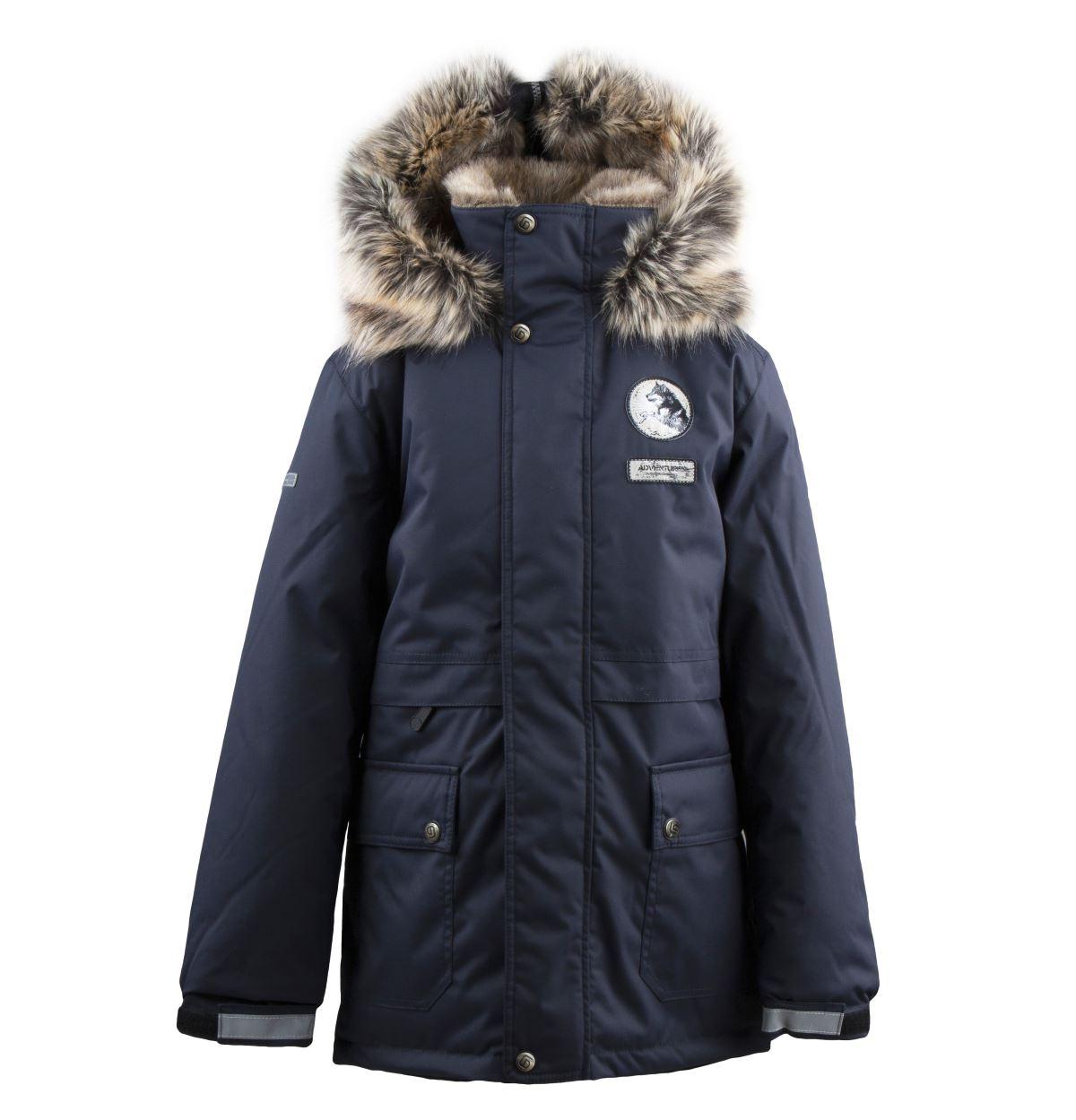 Lenne Nash куртка парка для мальчика темно-синий графит