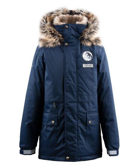 Lenne Nash куртка парка для мальчика темно-синяя