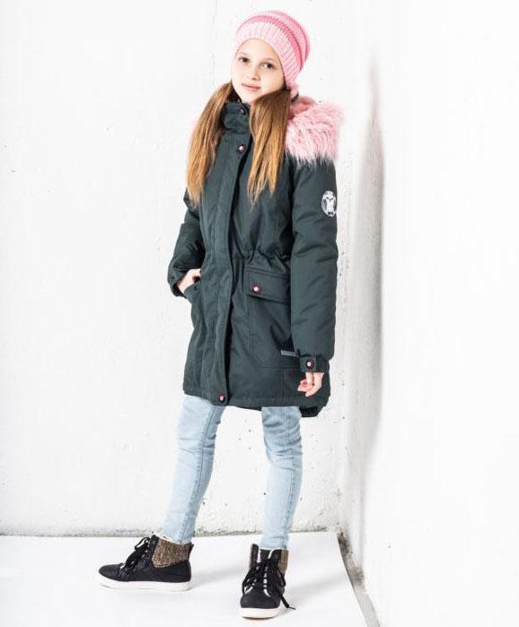 Lenne Rosa куртка парка для девочки зелёная подросток