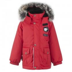 Lenne Moss удлиненная куртка парка для мальчика красная 20339-622
