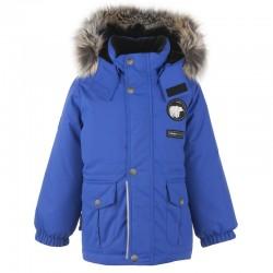 Lenne Moss удлиненная куртка парка для мальчика синяя 20339-677
