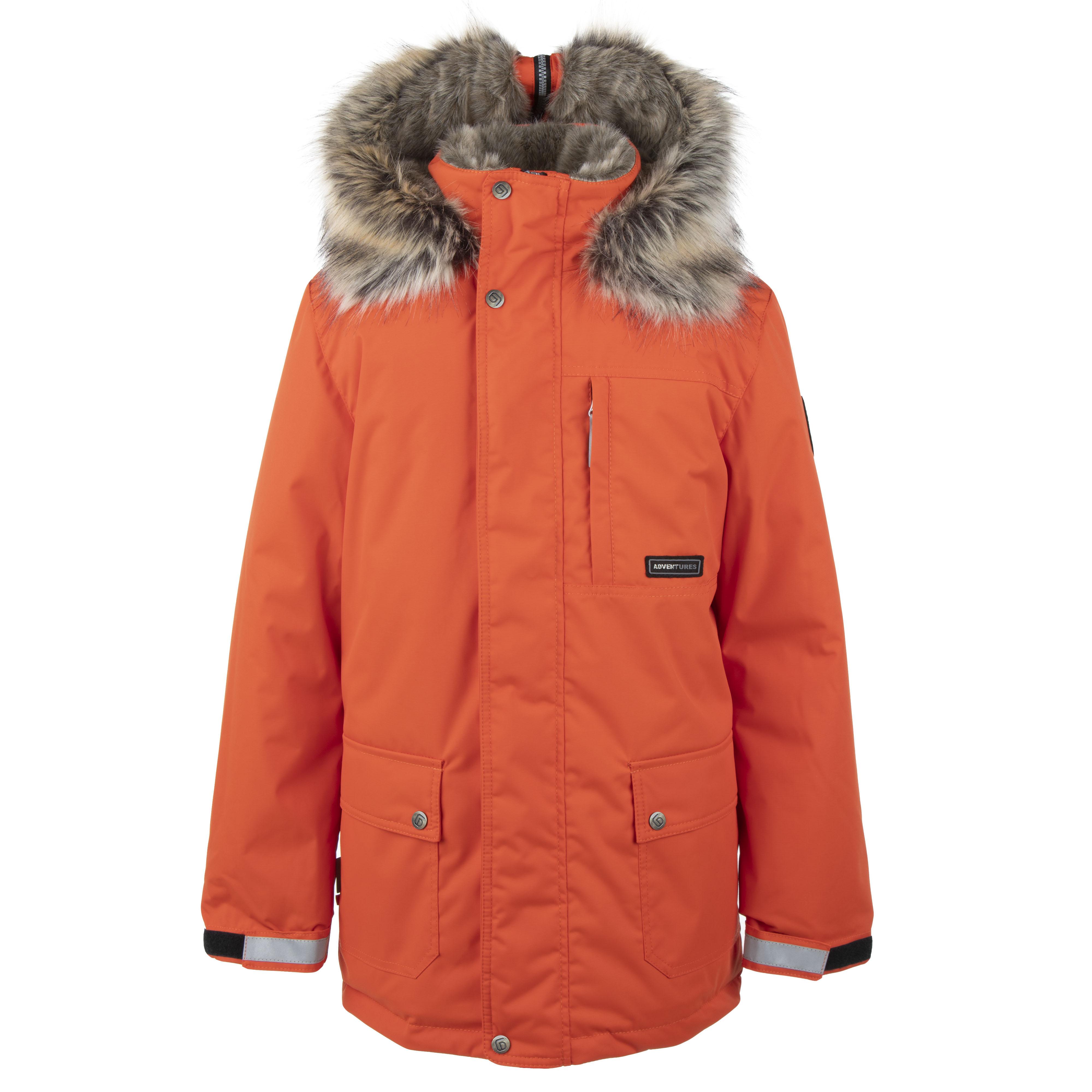 Lenne Jako куртка парка для мальчика оранжевая 20368/455