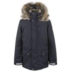 Lenne Jako куртка парка для мальчика тёмно-синий графит 20368-987 (1)