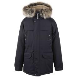 Lenne Wafi куртка парка для мальчика графит 20369A/987