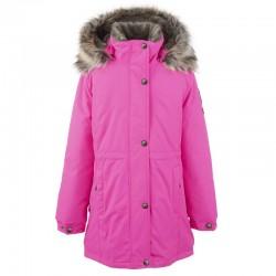 Lenne Edna куртка парка для девочек и молдых мам 20671-268 розовая