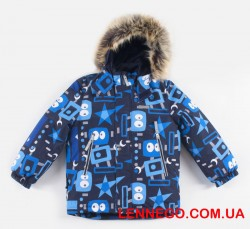Lenne Alexi зимняя куртка для мальчика синяя