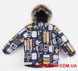 Lenne Alexi зимняя куртка для мальчика серая