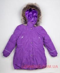 Lenne Alice пальто для девочки сиреневое