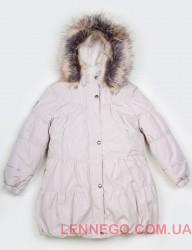 Зимнее пальто для девочки Lenne Alice 18333/5051бежевое