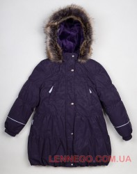 Lenne Alice пальто для девочки баклажан