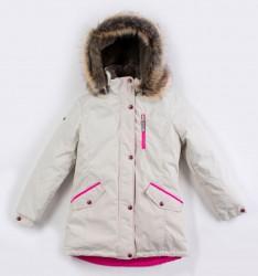Lenne Angel куртка парка для девочки бежевая подросток
