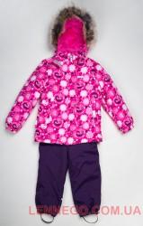 Зимний теплый комплект для девочки (куртка+полукомбинезон) Lenne Britt 18320A/2640