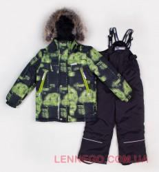 Lenne CIty+Jack комплект для мальчика салатовый