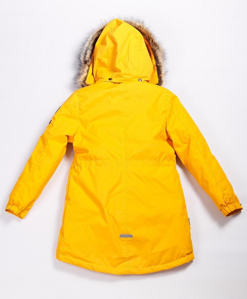Lenne Edna куртка парка для девочек и молдых мам 20671-109 жёлтая