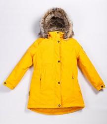 Lenne Edna куртка парка для девочек и молдых мам 20671-109 жёлтая (1)