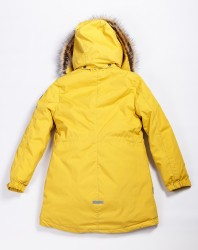 Lenne Edna куртка парка для девочек и молдых мам 20671-112 горчичный