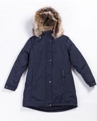 Lenne Edna куртка парка для девочек и молодых мам 20671/229 тёмно-синяя
