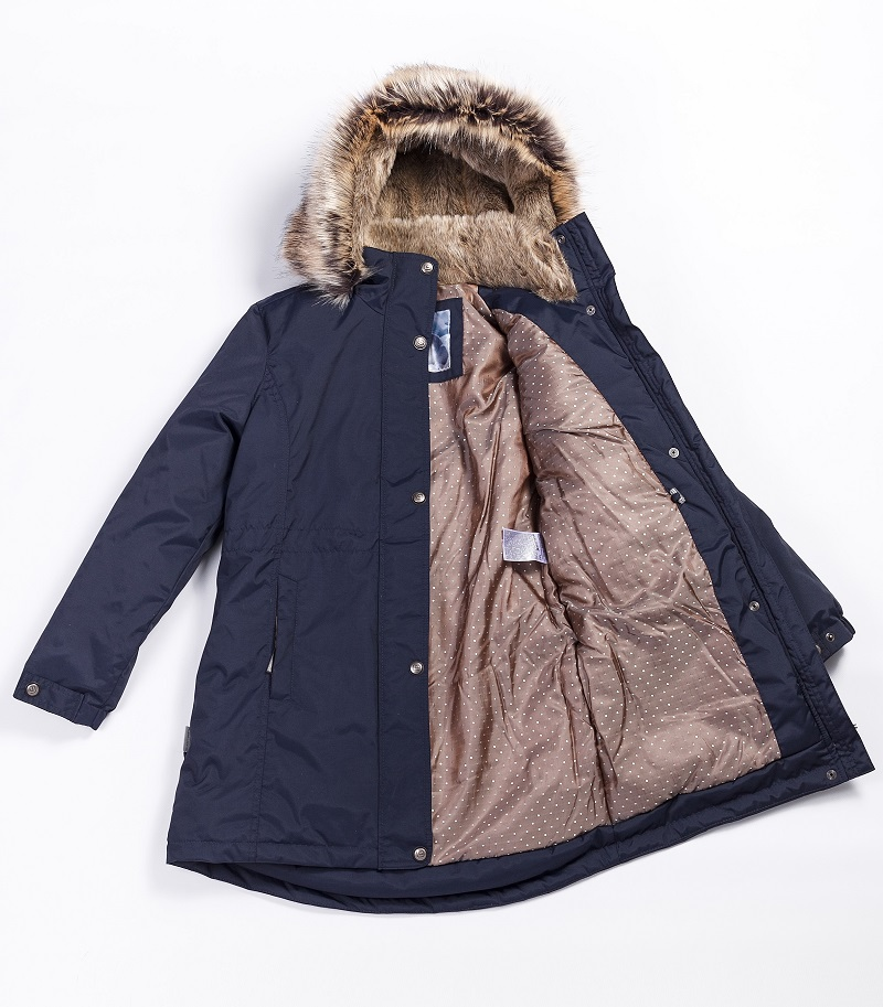 Lenne Edna куртка парка для девочек и молдых мам темно-синяя 20671-229