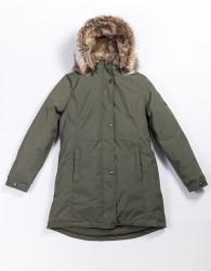 Lenne Edna куртка парка для девочек и молдых мам 20671-330 зелёная