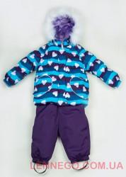 Зимний комплект для девочки (куртка+полукомбинезон) Lenne Elsa 18318A/1600