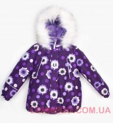 Зимняя теплая куртка для девочки Lenne Emily 18331/6189