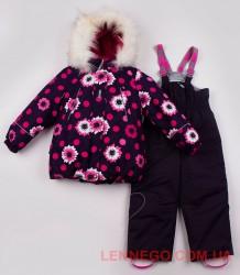 Lenne Emily+Heily комплект для девочки баклажан