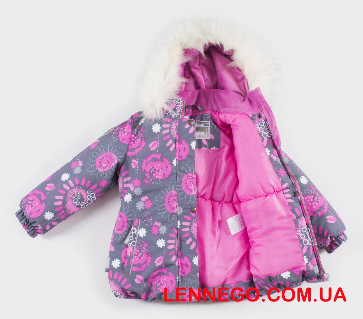 Lenne Emmy куртка для девочки серая