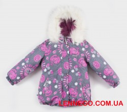 Куртка для девочки lenne emmy 19331/3702 серая
