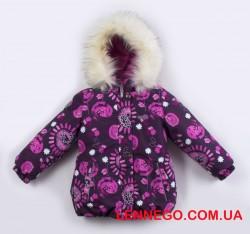 Куртка для девочки lenne emmy 19331/6055 бордо