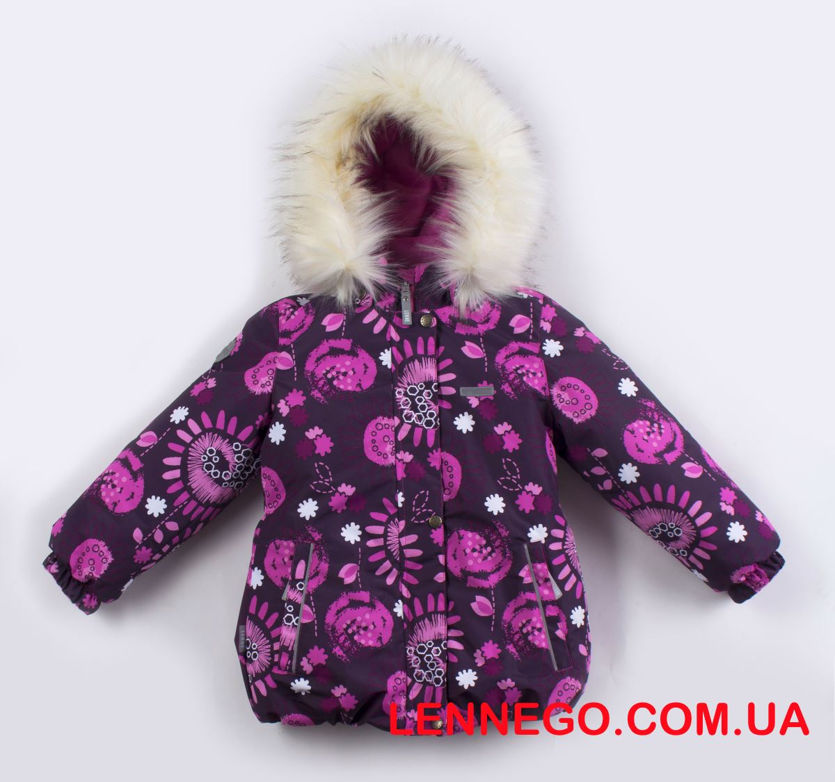 Lenne Emmy куртка для девочки бордо