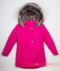 Lenne Estella куртка парка для девочки малиновая, подросток