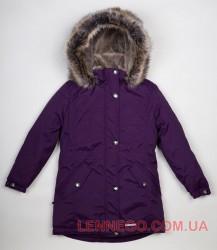 Lenne Estella куртка парка для девочки темная вишняc