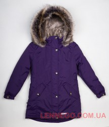 Lenne Estella куртка парка для девочки баклажанc