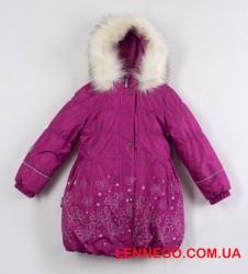 Зимнее теплое пальто для девочки lenne estella 19334/2610