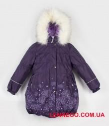 Lenne Estella пальто для девочки фиолет