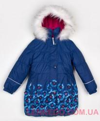 Lenne Estelle пальто для девочки синие