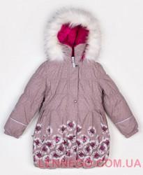 Lenne Estelle пальто для девочки бежевое