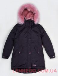 Lenne Estra куртка парка для девочки чёрная