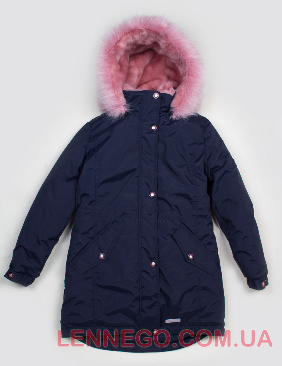Lenne Estra куртка парка для девочки темно-синяя