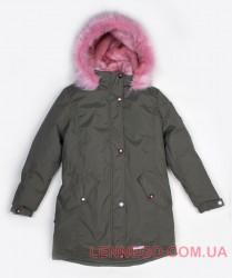 Зимняя теплая куртка парка для девочки Lenne Estra 18671A/330