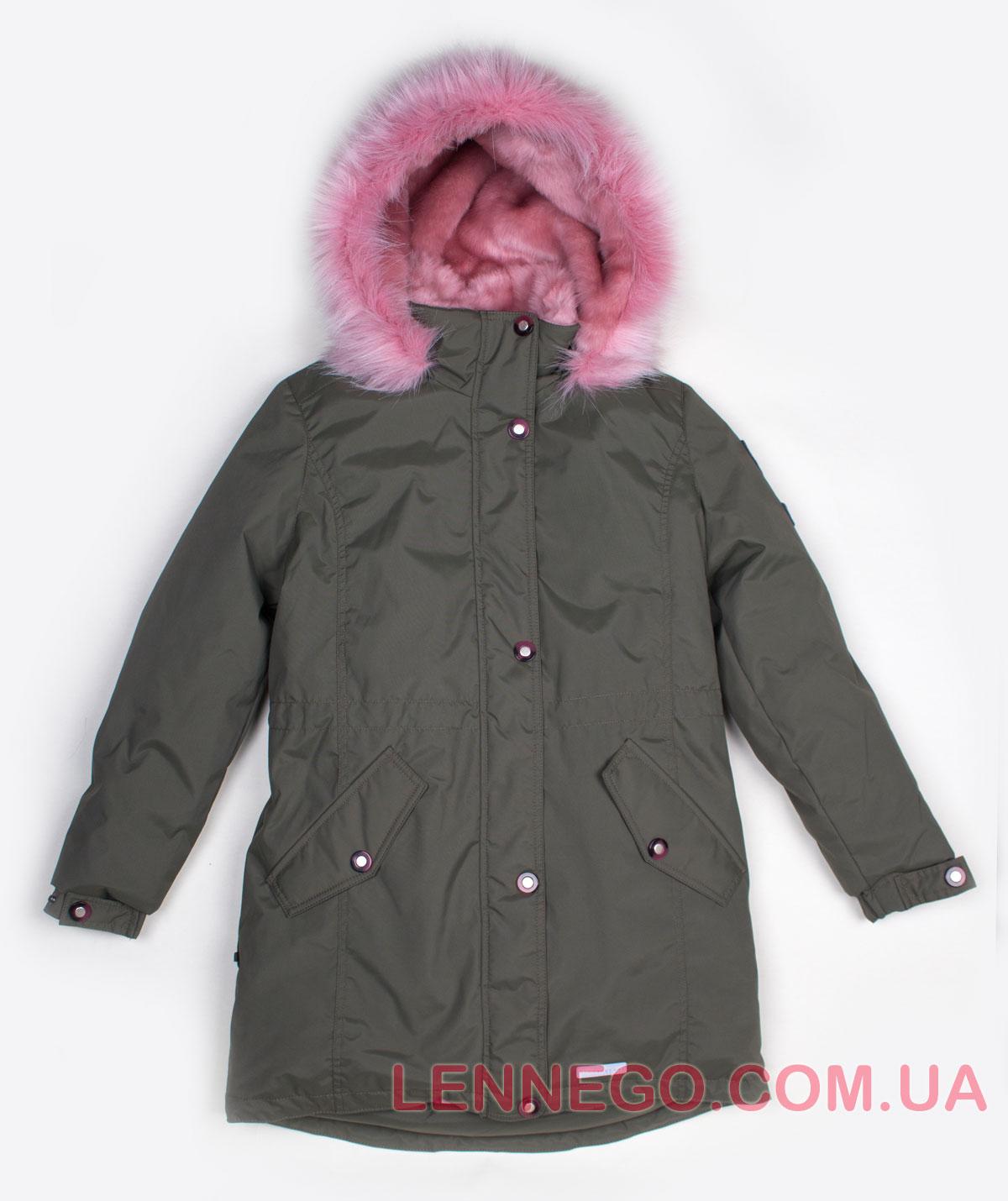 Lenne Estra куртка парка для девочки хаки