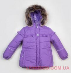 Lenne Fanny куртка для девочки сиреневая