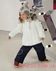Lenne Fanny куртка для девочки молочная