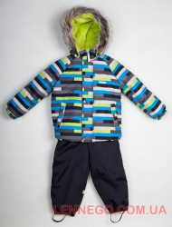 Зимний комплект для мальчика Lenne Frank 18318/3300 серый