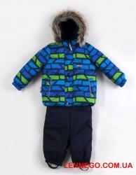 Зимний комплект для мальчика lenne (ленне ) franky 19318/6790 синий