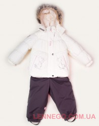 Зимний комплект для девочки (куртка+полукомбинезон) Lenne Hearty 18316/100