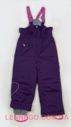 Зимний полукомбинезон для девочки Lenne Heily 18353/612 фиолетовый