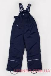 Зимний теплый полукомбинезон для мальчика Lenne Jack 18351/229 темно-синий