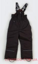 Зимний полукомбинезон для мальчика Lenne Jack 18351/коричневый