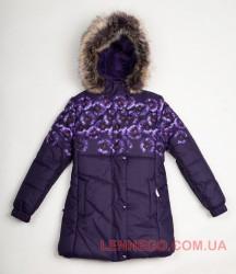 Зимнее пальто для девочки Lenne Keira 18364/6190 фиолетовое